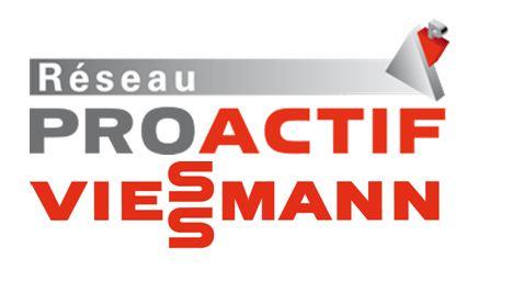 Prognon sas - Pierrelaye - logo Réseau proactif viessmann